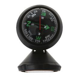 Ingrosso Mini Car bussola flessibile navigazione Dashboard sfera Auto adesivo veicolo Cup