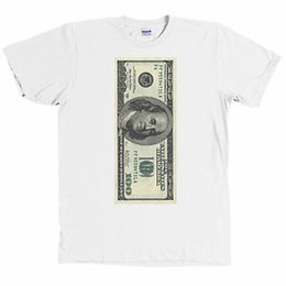 $enCountryForm.capitalKeyWord Australia - One Hundred Dollar Bill USD T Shirt 100 Benjamin Franklin Money Tee NWT
