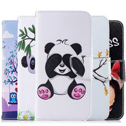 Painting Clip Australia - Magnetic Flip Case For huawei mate 20 pro Wallet Stand Card Slot 3D Painted Phone Leather Cover For Huawei mate 20pro Phone Bags