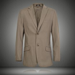 Suit Outerwear Male Australia - Spring men fashion loose business style plus size single breasted casual blazers male trendy long sleeve casual cotton outerwear #551106