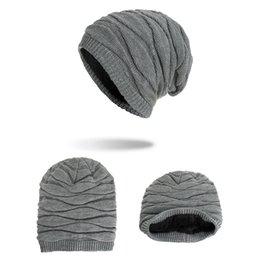 $enCountryForm.capitalKeyWord Australia - Fashion Men Knitted Hat Causal Winter Warm Solid Hip-hop Beanie Hats Outdoor Bonnet Skiing Soft Cap TTA1453