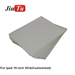 Oca lcd online shopping - New Arrival High Quality For Big Size LCD Screen Repairing Customized inch OCA Glue Film Sticker