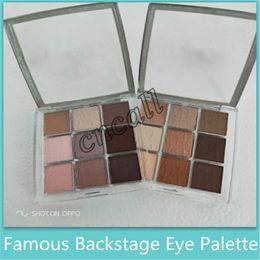 $enCountryForm.capitalKeyWord Australia - Famous Eye Makeup Palettes Backstage Eye shadow Palette Professional Performance 9 color Matte Mult-Finish High Pigment Eyeshadow