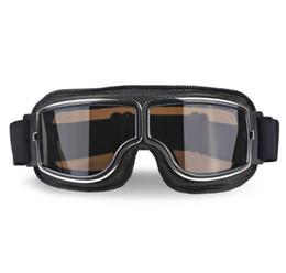 $enCountryForm.capitalKeyWord Australia - Universal Vintage Motorcycle Goggles Pilot Aviator Motorbike Scooter Biker Glasses Helmet Goggles Foldable For Harley
