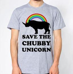 $enCountryForm.capitalKeyWord Australia - Save The Chubby Unicorn New T-Shirt Rhinoceros Rhino Men Women Unisex Fashion tshirt Free Shipping