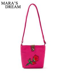 $enCountryForm.capitalKeyWord NZ - Cheap Mara's Dream Shoulder Bag Female Flower Embroidery Handbag For Women Messenger Bags Envelope Crossbody Bag Sac A Main Feminina