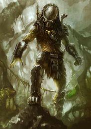 Aliens Vs Predator Figure Australia - Alien Vs. Predator Movie wall decor Art Silk Print Poster 889