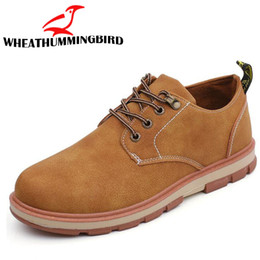 $enCountryForm.capitalKeyWord Australia - 2018 New fashion spring autumn leather sneakers Retro shoes shoes mens oxfords thick sole casual flats LF-80