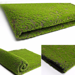 live garden plants Canada - Artificial Moss Fake Green Plants Faux Moss Grass For Shop Home Patio Decoration Garden Wall Living Room Decor Supplies100*100cm