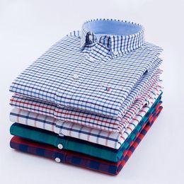 $enCountryForm.capitalKeyWord Australia - 5600# 29 Colour 38-44 Plaids & Checks New Men's Luxury Casual Stylish Clothing Long Sleeves Shirts oxford