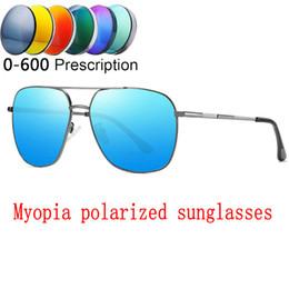 $enCountryForm.capitalKeyWord Australia - Prescription Glasses 0 to -6.0 For Myopia Men Women Polarized Mirror Lenses Sunglasses With Diopter Shortsighted Sungalsses FML