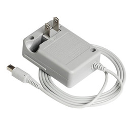 Nintendo NDSI / 2DS / 3DS / 3DSXL / 3DS用US 2ピンプラグウォール充電器ACアダプタACアダプタ