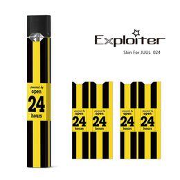 $enCountryForm.capitalKeyWord Australia - JUUL Skins Colorful Design Wraps Sticker for JUUL Kit Customized Paper Cover Sticker Skin JUUL Pod Starter Kit Cartridge DHL FREE