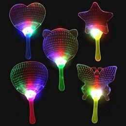 $enCountryForm.capitalKeyWord UK - LED Hand Fan Glow Light Plastic Colorful Flashing Kids Toys Costume Party Decoration Advertisement Gift Halloween Christmas Day Children