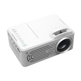 814 Mini Micro Portable Home Entertainment Projectors Equipments Supports 1080P Hd Mobile Phone Connection Projector white color on Sale