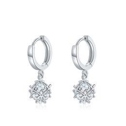 $enCountryForm.capitalKeyWord UK - Free Shipping Fashion Jewlery Cubic Zirconia Silver Color Round Crystal Earring Jewelry for Women Girls Gift FWE023