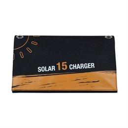 Портативное Солнечное Зарядное Устройство 15 Вт Солнечные Панели с 2 портами USB Водонепроницаемый Складной Кемпинг Зарядное Устройство для Мобильного Телефона, Сотового Телефона