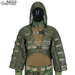 $enCountryForm.capitalKeyWord Australia - Sniper Tog Ghillie Suit Foundation Hydration Compatible Breathable Sniper Coats Viper Hoods Army Green Black