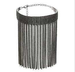 Evening Gowns Accessories Australia - blingbling hot style New ladies accessories Elegant Party jewelry fashion Necklaces Exquisite collar Paired with evening gowns
