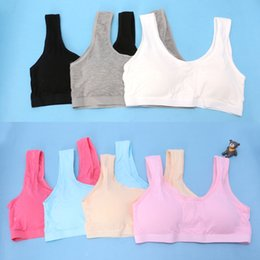 organic underwear 2020 - Teenage Kids Girls Underwear Teen Sports Bra Puberty Training Bra Underclothes cheap organic underwear