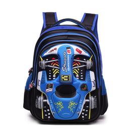 $enCountryForm.capitalKeyWord NZ - Children Cartoon 3d Car School Bags Boys Girls Primary School Backpack Kids Kindergarten Backpack Schoolbags Mochila Infantil Y19062401