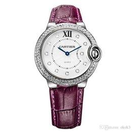 4f37030807bb Venta caliente Top Brand Women Waches Montre Femme Alta Calidad Mujer Reloj  de Cuarzo de Cuero