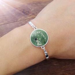 $enCountryForm.capitalKeyWord Australia - Newest fashion Lily of the Valley Flower Fairy Bracelet Bangle Accessories Creative Unisex Jewelry Wholesale Focus on handmade jewelry