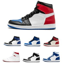 CyCle games online shopping - 2019 top Banned Bred Toe Chicago OG s Game Royal Blue mens basketball shoes sneakers Shattered Backboard men sports designer trainers