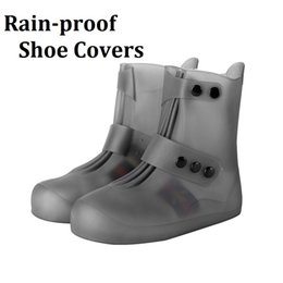 Canvas Shoes Manufacturers Australia - Manufacturer sells high quality PVC waterproof shoe covers wholesale multicolor light soft rain-proof shoes covers