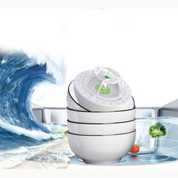 venda por atacado Pia portátil ultrassônico limpador máquina de lavar louça automática usb lavagem elétrica frutas legumes máquina de limpeza máquina de lavar louça