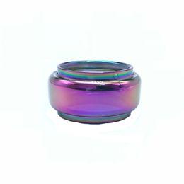 $enCountryForm.capitalKeyWord UK - For Stick V9 Max tank extended rainbow bubble glass tube free shipping ecig vape glass bulb glass tube vape accessory