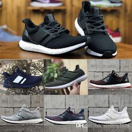 407151e6c1408 High Quality Ultraboost 3 0 4 0 Uncaged Running Shoes Men Women Ultra Boost  3 0 III Primeknit Runs White Black Athletic Shoes Size 36-45