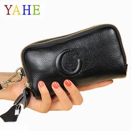 $enCountryForm.capitalKeyWord NZ - Yahe 2018 Brand Fashion Women Handbags Item Organizer Purses Female Girl Genuine Leather Coin Phone Money Bag Small Clutch Pouch C19032701