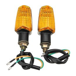 Flasher For turn signal online shopping - Motorcycle Turn Signal Lights Blinker Bulb Amber Flasher Light for Suzuki Yamaha Honda Kawasaki KTM Universal Lamp