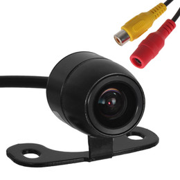 Auto Rearview Camera Australia - E306 18mm Color CMOS   CCD Waterproof Vehicle Auto Car Rear view Camera Reverse Rearview Camera for Security Backup Parking