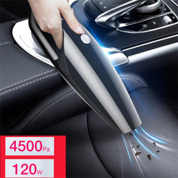 portable car cleaner NZ - Cordless Hand Held Vacuum Cleaner Small Mini Portable Car Home Dirty 120W High Power Motor Rapid Removal Of Stubborn Dust #Ger