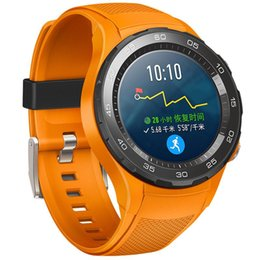 Smart Watches Nfc Australia - Original Huawei Watch 2 Smart Watch Support LTE 4G Phone Call GPS NFC Heart Rate Monitor eSIM Wristwatch For Android iPhone Waterproof Watch