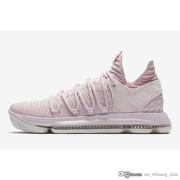 $enCountryForm.capitalKeyWord Canada - Cheap 2018 new Mens KD 10 Aunt Pearl basketball shoes Kay Yow Think Pink Kevin Durant KD10 x sneakers tennis with original box for sale