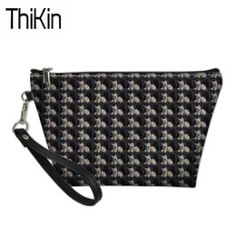 Printed Cosmetic Bags Australia - THIKIN Women's Travel Cosmetic Cases West Highland Terrier Dog Printing Makeup Box Ladies Portable Wash Kit Bags for Make Up