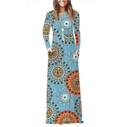 $enCountryForm.capitalKeyWord Australia - Women long Sleeve Loose Plain Maxi Dresses Casual Long Dresses with Pockets