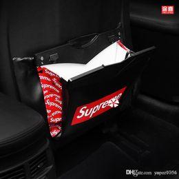 Car garbage bags online shopping - Car folding trash bags include garbage bags storage bags in bulk bag Car Back Seat Storage Bag Organizer Pocket