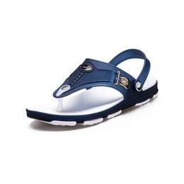 f71c45b21 2019 fashion summer mens sandals Men s Casual Shoes beach outdoor Men Flip  Flops flat shoe male flippers
