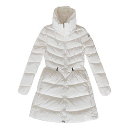 elegant down parka Australia - MON-SC whiteiswhite women classic jacket coats ladies winter warm outfit parka female elegant turtle neck slim down outerwewar