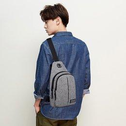 Chinese  Xiniu Men Oxford Cloth Chest Bag Wild Small Bag Fashion Pockets Fashion Pockets Wholesale&Dropshipping Bandage Shoulder manufacturers