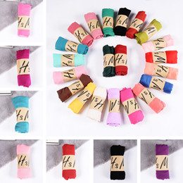 $enCountryForm.capitalKeyWord Australia - Newest the spring autumn cotton and linen scarf Pure color super monochromatic scarf is prevented bask in shawls scarves 300pcs T1I1104