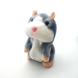 pet toy chicken Australia - 15cm Talking Hamster Mouse Pet Plush Toy Hot Cute Speak Talking Sound Record Hamster Educational Toy for Children Gifts