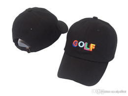 1f05aca52d6 2018 New Style bone Curved visor Casquette baseball Cap Tyler The Creator  Golf Hat - Black Dad Cap Wang Cross T-shirt Earl Odd Future