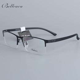 35b0674755 Stainless Steel Eye Frames Australia - Bellcaca Men Spectacle Frame  Eyeglasses Nerd Computer Optical Prescription Eye