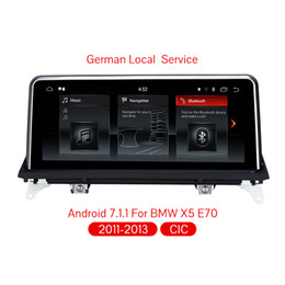 Multimedia Player NZ - Car Multimedia player 2 Din android 7.1 Car audio For BMW E70 71 X5 F15 X6 32GB Rom Quad Core GPS Radio CCC System