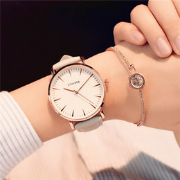 $enCountryForm.capitalKeyWord Australia - Exquisite Simple Style Women Watches Luxury Fashion Quartz Wristwatches Ulzzang Brand Woman Clock Montre Femme T190619